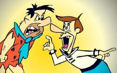 Fred Flintstone & George Jetson